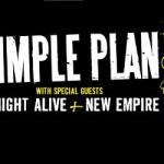 Simple Plan Spring 2011 Tour
